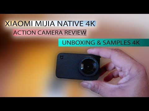 XIAOMI MIJIA 4K Action Camera Review & Unboxing - YouTube