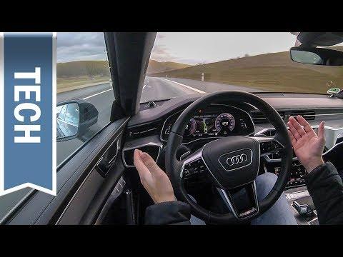 Adaptiver Fahrassistent im Audi A7 im Test: Teilautonomes Fahren, ACC & Lane Assist