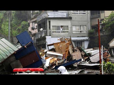 Ιαπωνία: Νεκροί και αγνοούμενοι μετά από κατολισθήσεις …