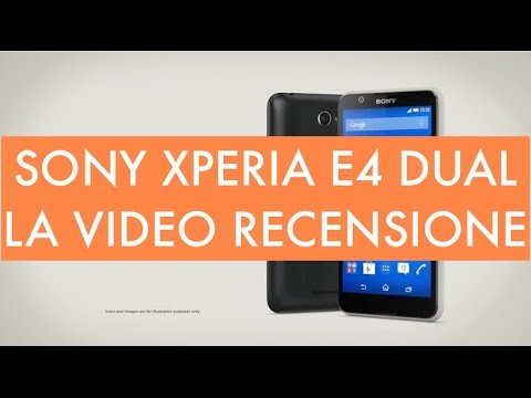 Video recensione Sony Xperia E4 Dual Sim