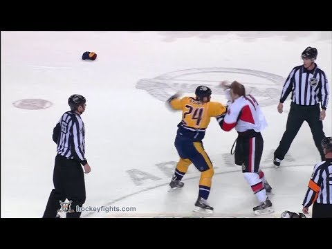 Eric Nystrom vs. Colin Greening