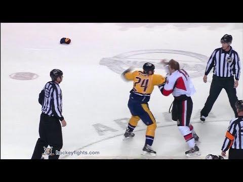 Colin Greening vs Eric Nystrom