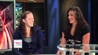 TV SHOW Miesha Tate and Sarah Kaufman on San Diego Union Tribune TV