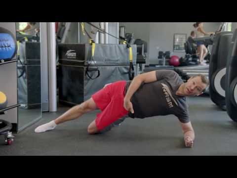 Modified Side Plank with Hip Abduction