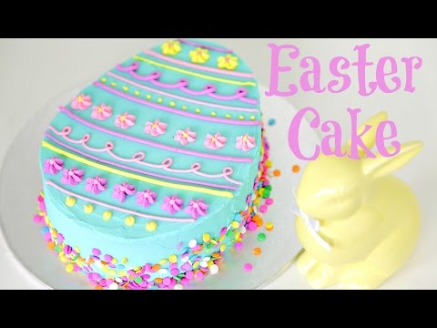 Video Easter Egg Cake Decorating - CAKE STYLE
