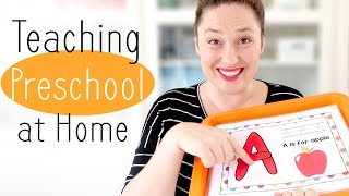 Teaching Preschool at Home