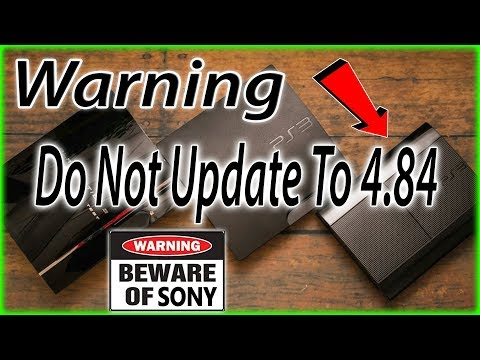 PS3 - Looks like DEX consoles must update to 4 82 now?? - смотреть