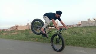 Fat cycle stunt 😱