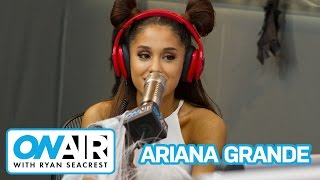 """Ariana Grande Talks """"Focus,"""" Love Life   On Air with Ryan Seacrest"""