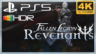 [4K/HDR] Fallen Legion : Revenants / Playstation 5 Gameplay
