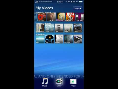 "Sony Ericsson's ""Rachael"" Android UI: Android Meets Zune HD, Looks Slicker Than iPhone"