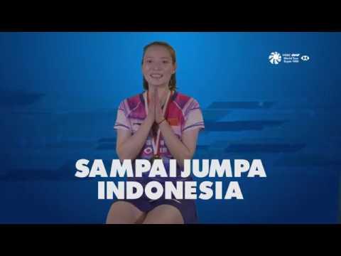 Blibli Indonesia Open 2019 - Story Of The Medal HUANG YA QIONG (CHN)