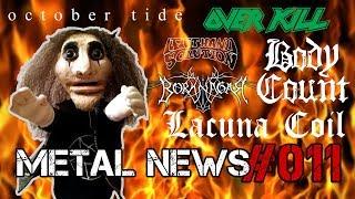 BORKNAGAR, OCTOBER TIDE, LACUNA COIL | METAL NEWS #011 | Новости метал-музыки | Март 2019