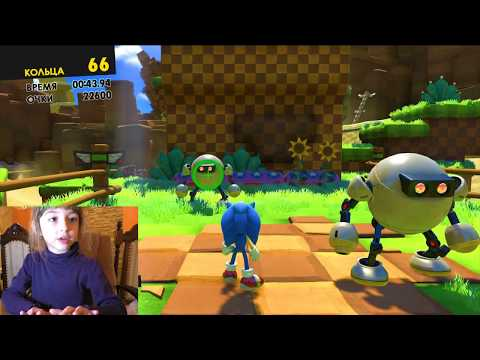 Игра Sonic Forces НАЧАЛО. Прохождение ЧАСТЬ №1. Можно ЛИ детям играть