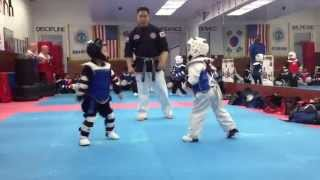 most intense brutal taekwondo fight ever part 2. warning graphic video