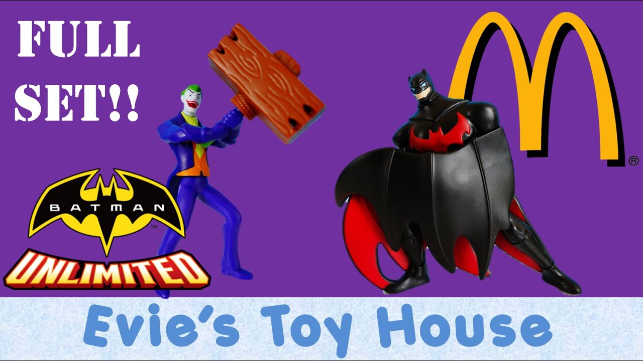 2015 Batman Unlimited McDonalds Happy Meal Toy - COMPLETE SET | Evies Toy House