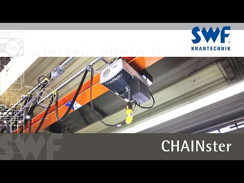 SWF Krantechnik - CHAINster electric chain hoist