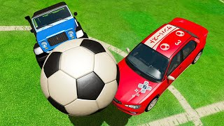 Beamng Multiplayer Soccer! Rocket League In Beamng! - Beam Mp W Camodo
