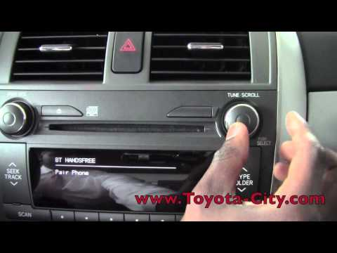 2017 Toyota Corolla Bluetooth Setup How To By City Minneapolis Mn