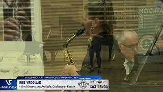 Ines Vrdoljak`plays Prelude, Cadence et Finale by Alfred Desenclos