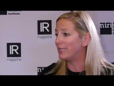 Clermont Partners' Victoria Sivrais at NIRI 2016