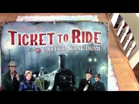 DGA Reviews: Ticket to Ride: Map Pack 5 - UK & PA (Ep. 253)