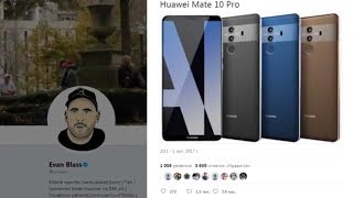 Huawei Mate 10 Pro -интеллектуальная машина обзор новинки смартфона от huawei