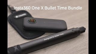 Insta360  One X - Bullet Time and Selfie Stick