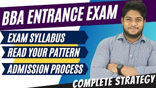 How to prepare bba entrance exam Syllabus Pattern Tricks Tips Complete details