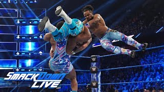 The New Day vs. Gallows & Anderson - Gauntlet Match Part 1: SmackDown LIVE, March 26, 2019