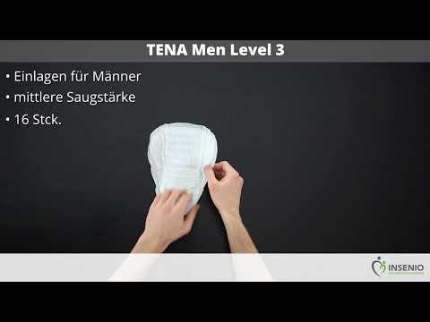 TENA Men Level 3 - ausgepackt!