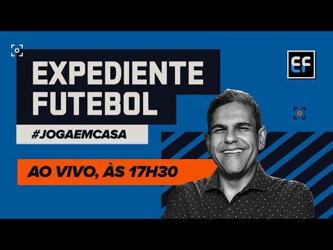 EXPEDIENTE FUTEBOL AO VIVO! João Guilherme e cia. chegam com as principais notícias do esporte