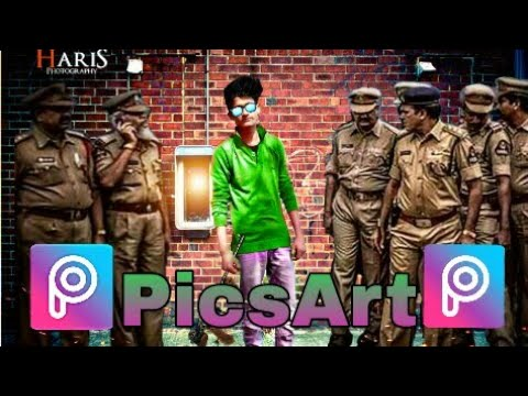 PicsArt Police Editing Tutorial | Best Editing Tutorial MRF Technical Facility.