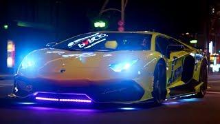 Neon Lamborghini Run in Japan   Top Gear: Series 25   BBC