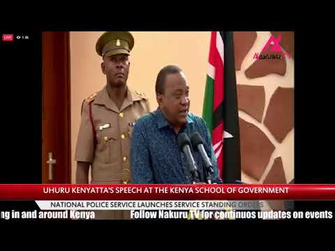 President Uhuru Kenyatta: Uhuru orders journalists to leave his function