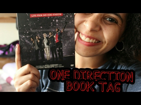 ONE DIRECTION BOOK TAG | VEDA #14 | Livraneios