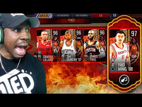 COMPLETING 96 OVR MASTERS IN LUNAR NEW YEAR CAMPAIGN! NBA Live Mobile 19 Season 3 Ep. 38