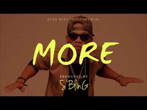 "[FREE BEAT] ""More"" Afrobeat Instrumental | Tekno x Maleek Berry Type Beat | Prod. by S'Bling"
