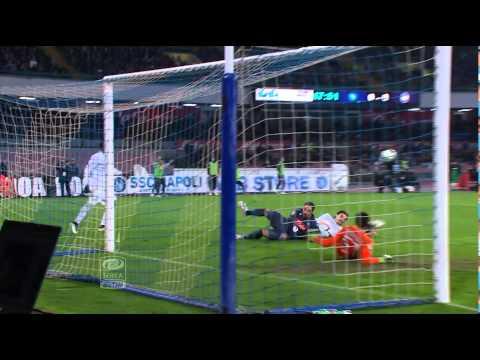 Napoli-Atalanta 1-1 28a giornata di Serie A TIM 2014/2015 Sintesi (4 min)