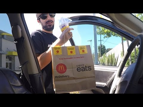 Guy drives Uber eats for one day and out of 21 deliveries he gets one tip.