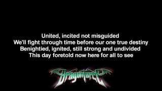 DragonForce - Defenders ft. Matt Heafy | Lyrics on screen | Full HD