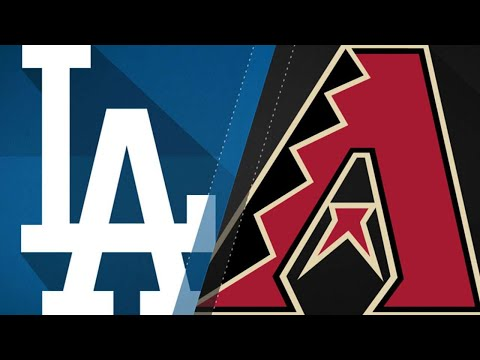 D-backs hold off Dodgers for 7-6 victory: 8/29/17