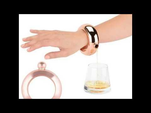 FashionFlask™ A Stylish Bracelet Bangle With A Hidden Flask Compartment