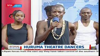 Huruma Theatre Dancers, talking about what they do and why its important to them