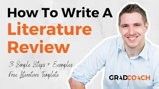How To Write A Literature Review In 3 Simple Steps (FREE Template With Examples)