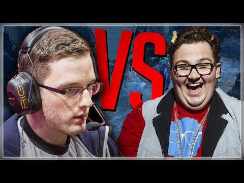 Freeze vs FattyPillow 1v1   LEAGUE OF LEGENDS