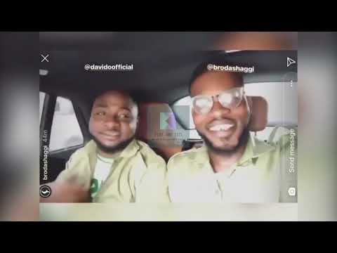DAVIDO'S FIRST DAY IN NYSC CAMP