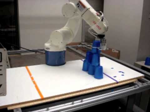 Robotic Manipulation - Cup Stacking