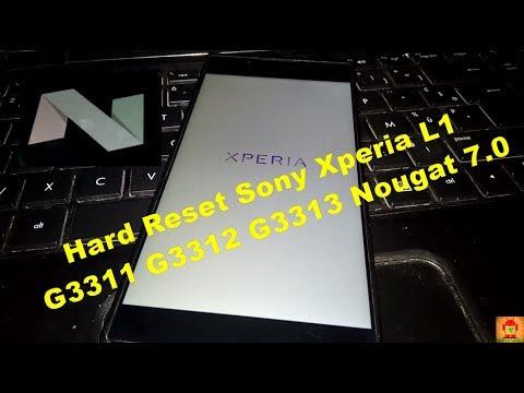 Flash Sony Xperia L1 G3311 G3312 G3313 Nougat 7 0 Via