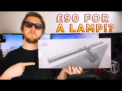 BenQ ScreenBar e-Reading Lamp Review – £90 for a desk lamp?